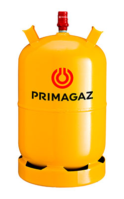 primagaz gasflasker Nysted-auto, Kettinge, gul gasflaske 11 kg
